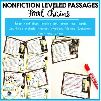 Food Chains Nonfiction Reading Passages
