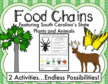 Food Chains: Featuring South Carolina's State Plants and Animals