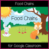 Food Chains (Great for Google Classroom)