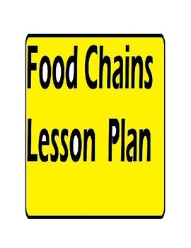 Food Chains Lesson Plan