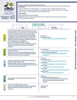 Food Chains - STEM Lesson Plan