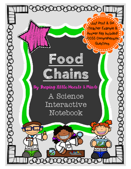Food Chains- Science Interactive Journal