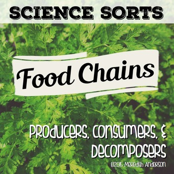 Food Chains: Science Sorts!