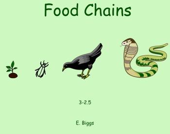 Food Chains - Smartboard Lesson