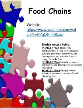 Food Chains - Study Jams