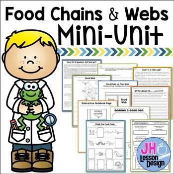 Food Chains and Food Webs Mini-Unit