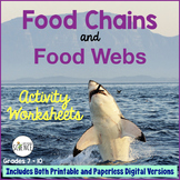 Food Chains and Food Webs Activity | Printable and Digital