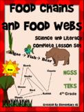 Food Chains and Food Webs:Complete Lesson Set Bundle (TEKS