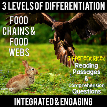 Food Chains and Food Webs {Differentiated Close Reading Passages ...