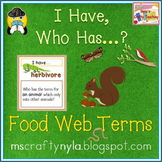 Food Chains and Food Webs Game