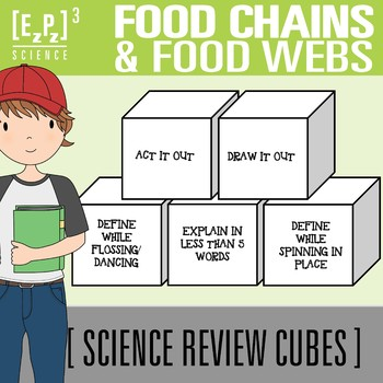 Food Chains and Food Webs Science Cubes