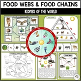 Food Chains and Food Webs of Biomes | Nature Curriculum in Cards