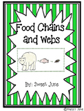 Food Chains and Webs Lesson