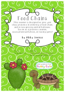 Food Chains by Habitat