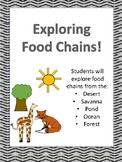 No Prep! Exploring Food Chains Activities