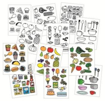 FOOD Clip Art - set #1 - 160 images!