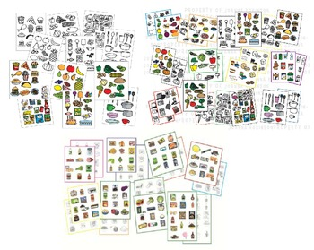 FOOD Clip Art BIG Bundle - sets 1, 2, and 3! Nearly 500 images!