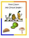Food Clip Art Pack – 1460 unique PNG files