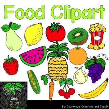 Food Clipart for Personal and Commercial Use