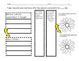 Food Coloring Celery/Flower Organizer 2nd Grade Science