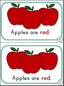 Food Colors Mini-Book