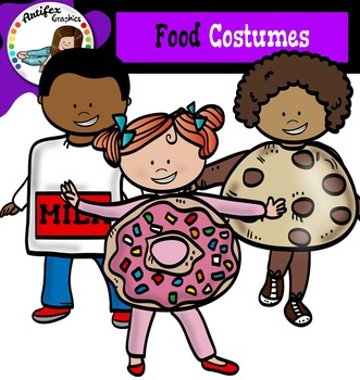 Food Costumes- Halloween kids-