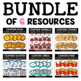 Food Counting Clipart Bundle