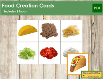 Food Creation Cards