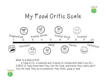 Food Critic Scale