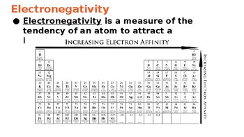 Electronegativity and Atomic Radius PowerPoint