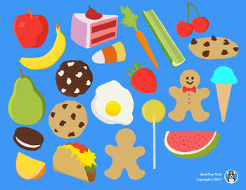Food Delights ClipArt