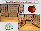ESL Food Desk Reference Folder and ESL Activities -  ELL Newcomers Too!