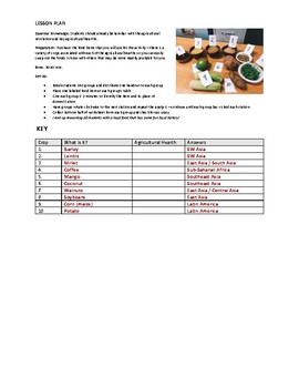 Food Detectives Stations Activity
