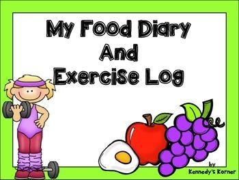 Food Diary FREEBIE for January 2015
