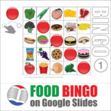 Food Digital Bingo