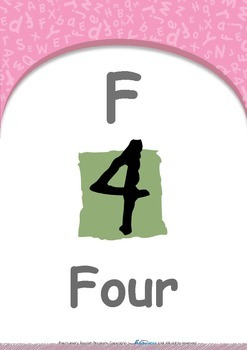 Food - Do the bird flap! : Letter F : Four - Pre-Nursery (1 year old)