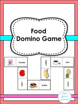 Food Domino Game