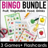 Bundle: Food, Drink, Fruit and Vegetable Vocabulary Bingo