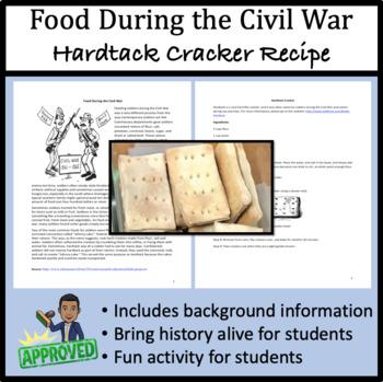 Food During the Civil War: Hardtack (Hard Tack) Cracker