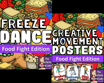 Food Fight Freeze Dance and Creative Movement