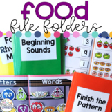 Food File Folders for Special Education