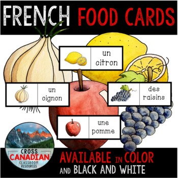 Food Flashcards in French!