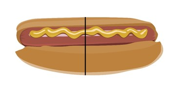 Food Fractions Clip Art (Create Magnetic Pieces!!)