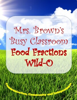 Food Fractions Wild - O