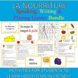 Food French Activities Nourriture Bundle
