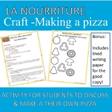 Food French Craft - Making a Pizza