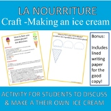 Food French Craft- Making an Ice Cream
