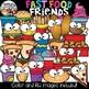 Food Friends Clipart Bundle {Fun Food Clipart}