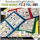 Food Functional Sight Word File Folders for Reading Comprehension in Special Ed