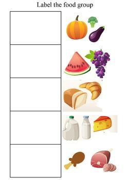 Food Group Activities and Worksheets